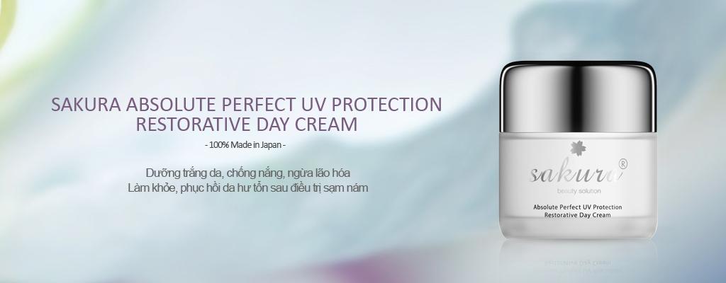 Kem dưỡng trắng chống lão hoá và phục hồi da ban ngày Sakura Restorative Day Cream