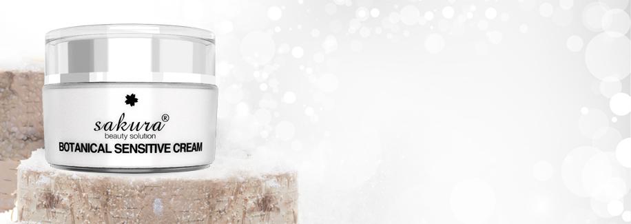 Kem dưỡng đặc trị cho da nhạy cảm Sakura Botanical Sensitive Cream