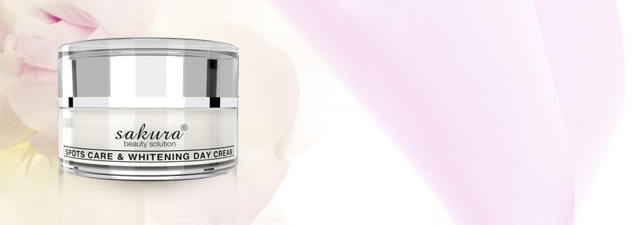 Kem dưỡng trắng da trị nám ban ngày Sakura spots care & whitening Day cream SPF 50 PA++++