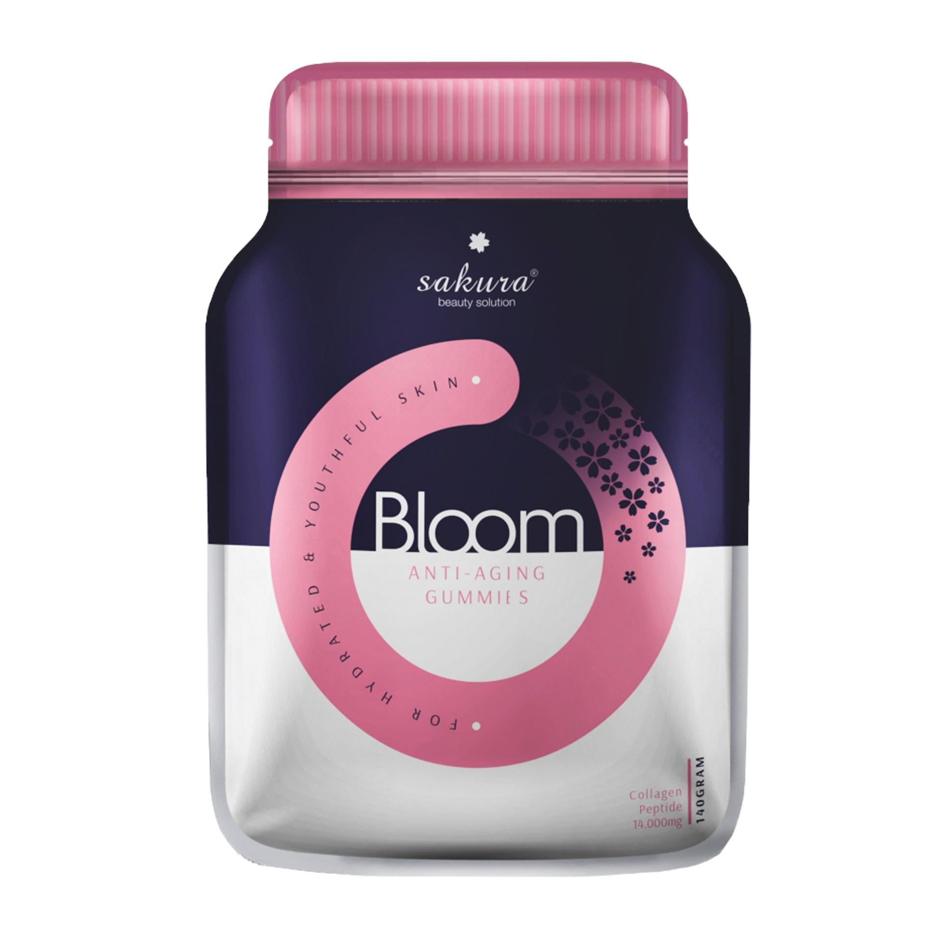 Gummy Collagen Sakura Bloom Anti - Aging Collagen Gummies