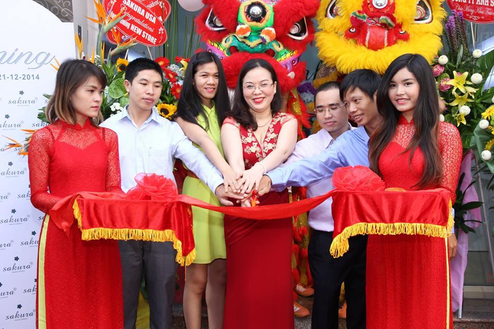 Mỹ phẩm Sakura khai trương văn phòng đại diện chính thức tại Việt Nam