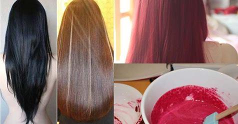 Hô biến tóc đen thành tóc vàng, nâu hạt dẻ hay đỏ đơn giản chỉ bằng nguyên liệu tự nhiên, không lo hỏng tóc