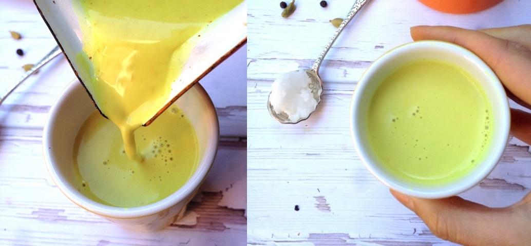Đun tinh bột nghệ với sữa đậu nành theo cách này để uống, da trắng như trứng gà bóc