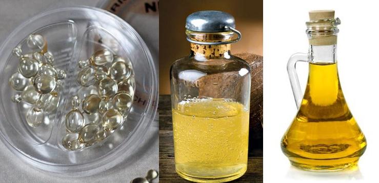 Áp dụng ngay công thức Vitamin E + Dầu dừa + Dầu Oliu vào ban đêm, trắng ngay tức thì, dưỡng da cực mịn