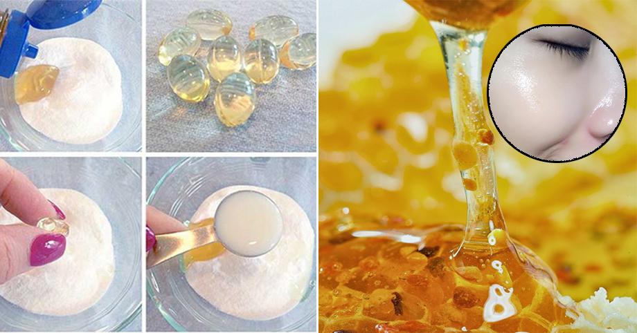 Da trắng không tưởng, sạch mọi vết thâm chỉ sau một đêm với công thức vitamin E + mật ong
