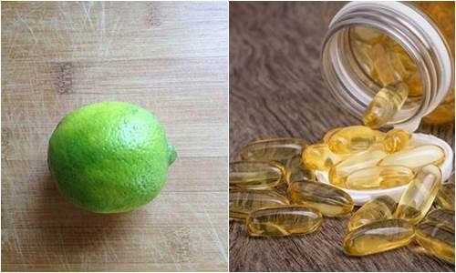 1 viên vitamin E + 1 quả chanh – Bí kíp giúp dưỡng da trắng bóc lại xóa mờ mọi vết thâm chỉ sau 15 phút