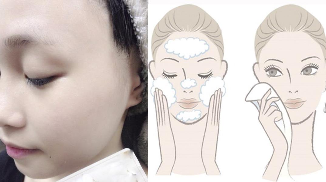 Học ngay cách rửa mặt đơn giản: 60 tuổi vẫn không có một nếp nhăn