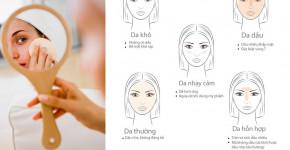 Chăm da hoài không đẹp là do bạn không biết phân loại da chuẩn