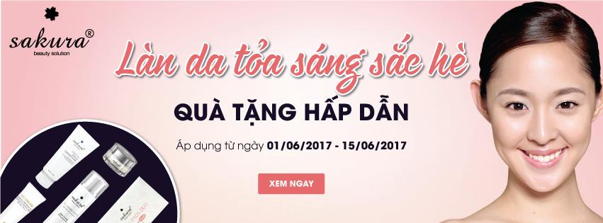 LÀN DA TỎA SÁNG SẮC HÈ