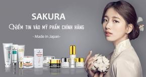 Mỹ phẩm Sakura chính hãng có GIÁ BAO NHIÊU?