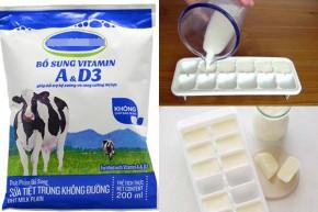 Chớp nhanh 10 cách làm trắng da hiệu quả chỉ với 1 bịch sữa tươi 6k
