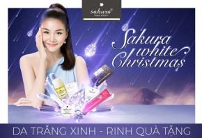 Sakura White Christmas - Khuyến mãi tháng 12