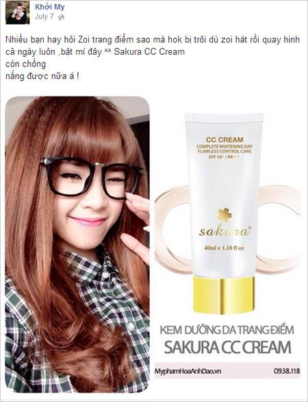 khoi my dung cc cream sakura